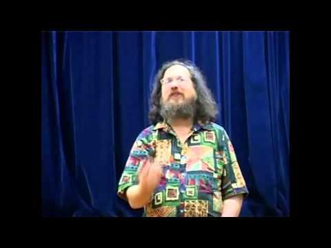 Original GNU/Linux Operating System Developer - Richard Stallman Speech