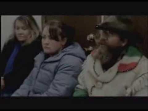 KBZK Bozeman MT News - Raw footage of Ernie Wayne Tertelgte in Three Forks Justice Court