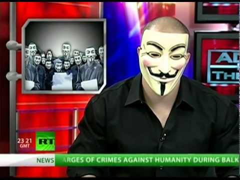 Anonymous on RT - NATO VS The Internet