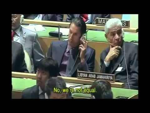 Muammar Gaddafi - The Illuminati Exposed By Muammar Gaddafi