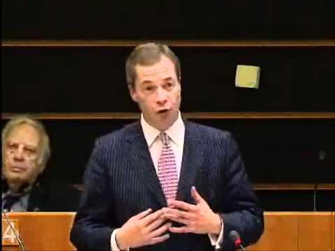 Nigel Farage - Trapped Inside an Economic Prison